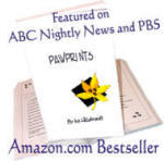'Pawprints' by Ina Hillebrandt, purr-fect pet humor gift book to aMUSE kids and adults, age 6-106